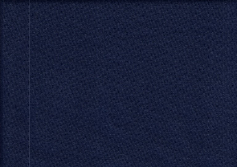 Piece 18 cm - T1400 Sweatshirt Fabric dark blue