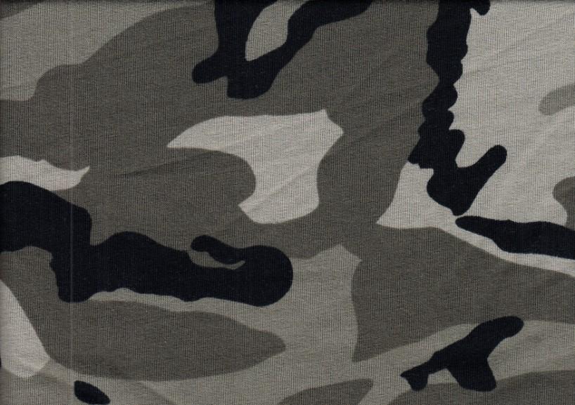 T1432 Joggingtyg kamouflage grön