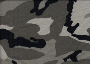 T1432 Sweatshirt Fabric Camouflage green