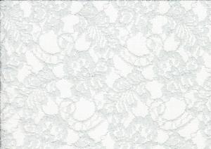 Lace Fabric Flowers light green