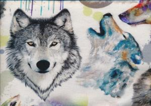 T1694 Jersey Fabric Wolf Palette