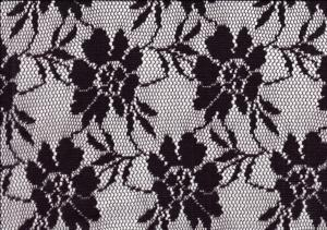 Lace Fabric Flower purple