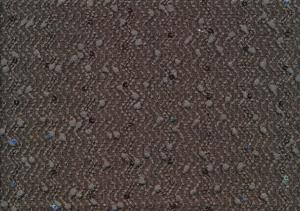 T1941 Heavyweight Jersey Fabric with Sequin brown