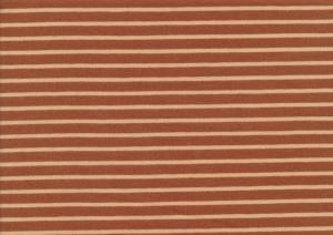 T1991 Jersey Fabric Stripes caramell