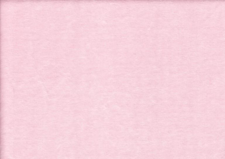Velour plush fabric light pink