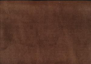 Velour plysch mellanbrun