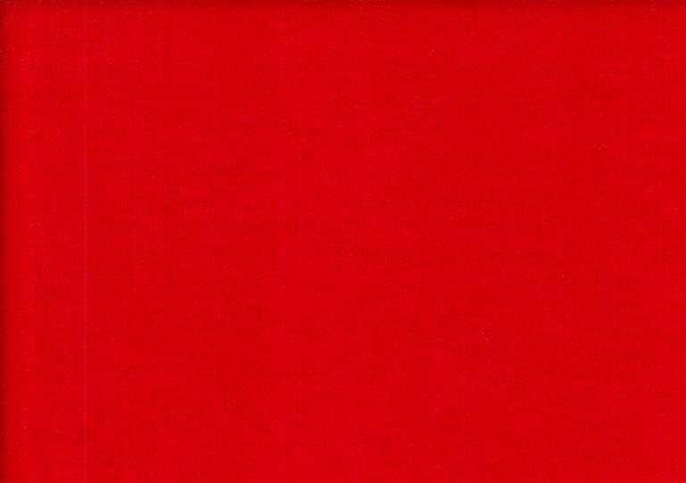Velour plysch röd