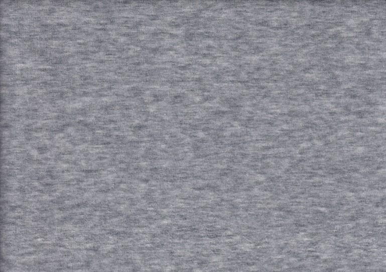 Velour plysch ljusgrå melererad
