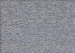 Velour plush fabric light grey