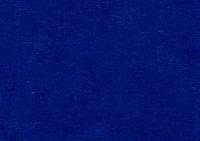 Velour plysch royalblå