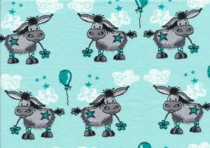 T2176 Trikå Donkey Lou turquoise