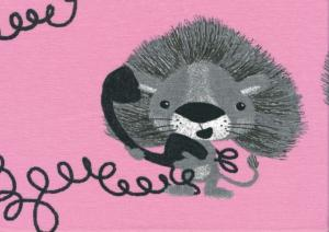 T2373 Jersey Lion's calling pink **