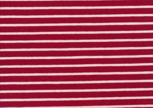 T2687 Trikå Stripes cherry**