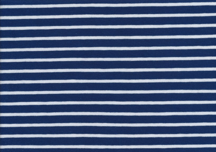 T2687 Trikå Stripes marine