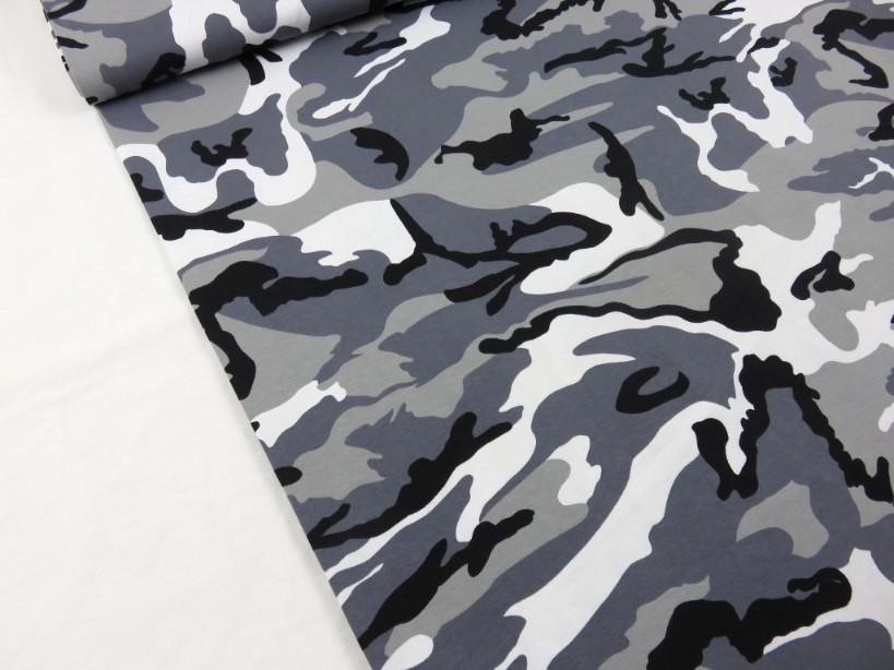 Trikå Kamouflage grå