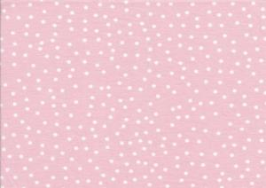 T4075 Trikå Dotties pale rose