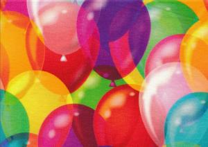 T4271 Jersey Fabric Balloons