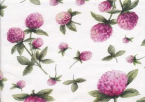T4621 Jersey Fabric Red Clover