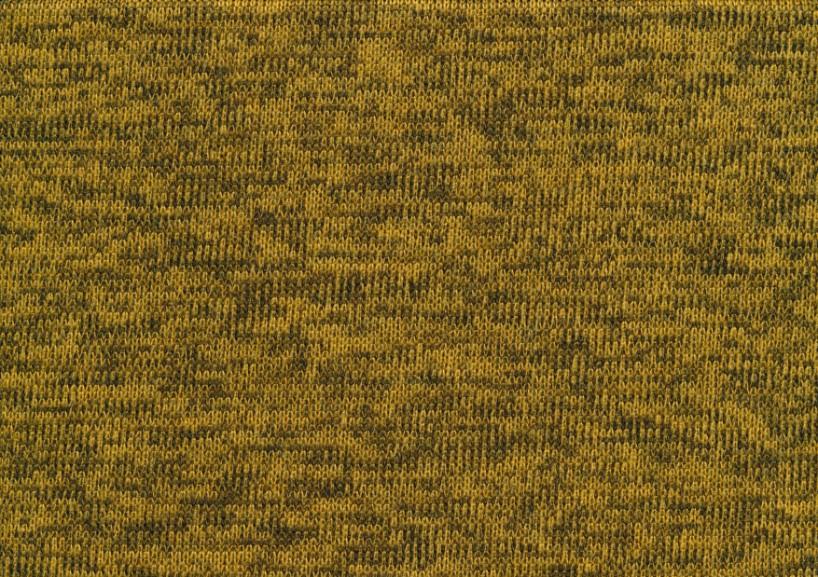 T4786 Knit Fleece Fabric mustard yellow