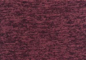 T4786 Trikåfleece vinröd