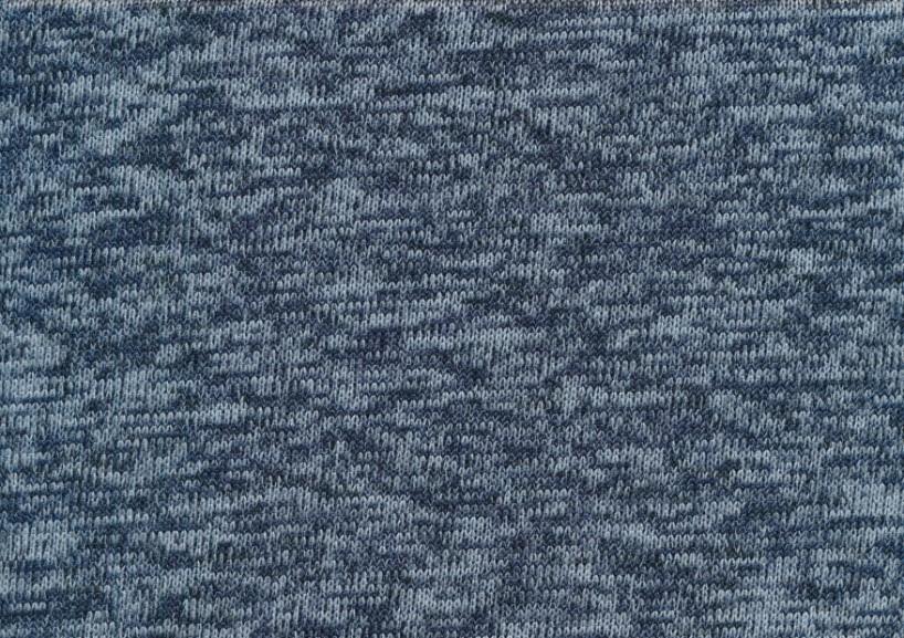T4786 Trikåfleece jeansblå
