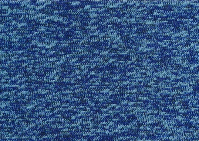 T4786 Trikåfleece blå
