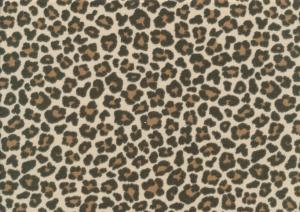 T4996 Jersey Fabric Leopard Mini brown