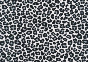T4996 Jersey Fabric Leopard Mini grey