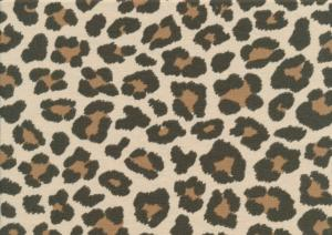 T4997 Jersey Fabric Leopard Maxi brown