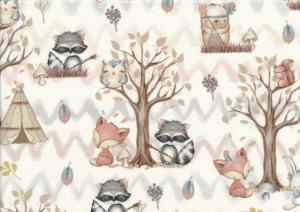 T5030 Sweatshirt Fabric Camping Buddies