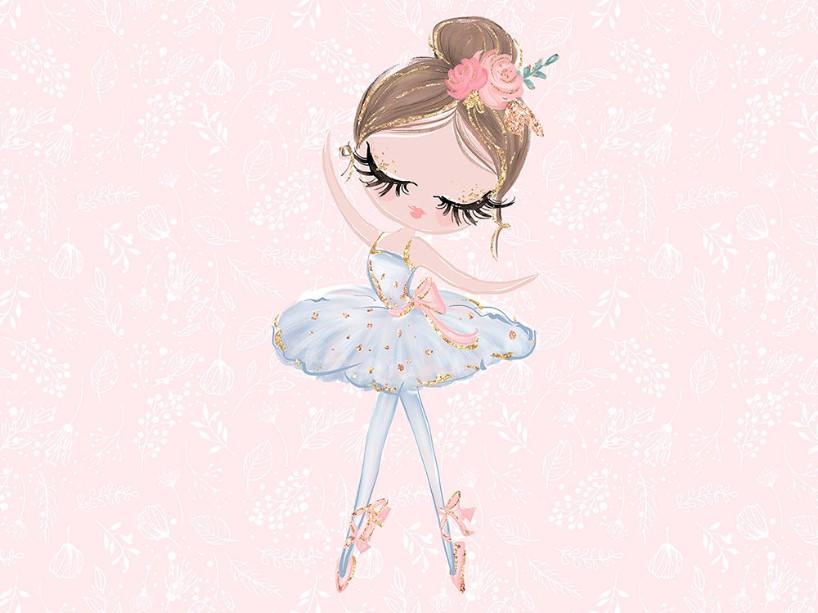 T5095 Joggingtyg Ballerina ljusrosa (40 x 50 cm) **