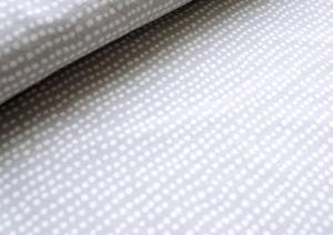 T5206 Jersey Fabric Dotted Line grey