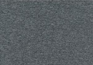 Piece 23 cm - T5254 French Terry melange dark grey