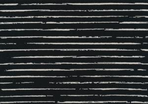 T5267 Jersey Fabric Lines black
