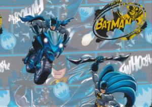T5271 Jersey Fabric Batman blue