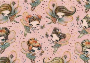 T5313 Sweatshirt Fabric Fairies