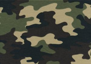 T5332 Joggingtyg kamouflage grön