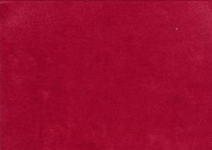 T5342 Velour röd