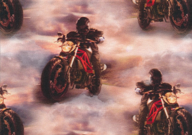 T5367 Jersey Fabric Cool Motorcycle