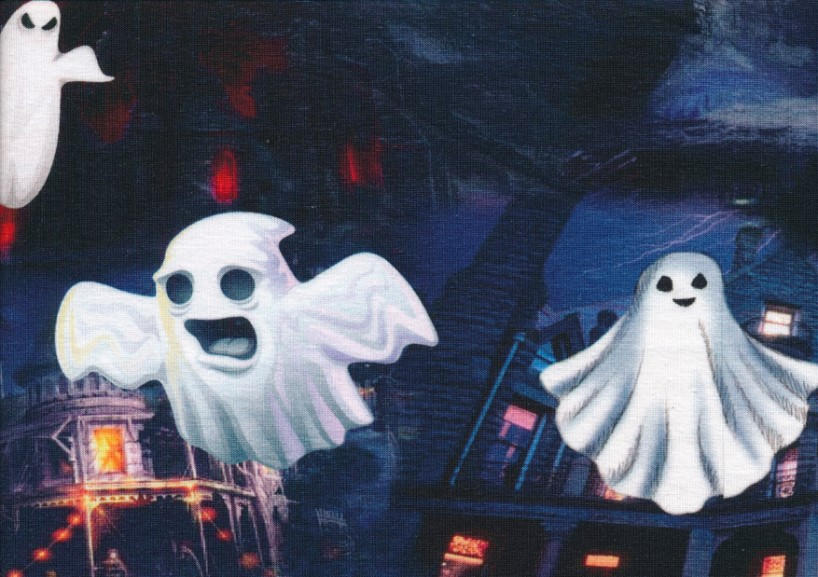 T5375 Jersey Fabric Ghost