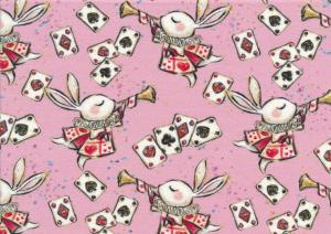 T5392 Sweatshirt Fabric White Rabbit