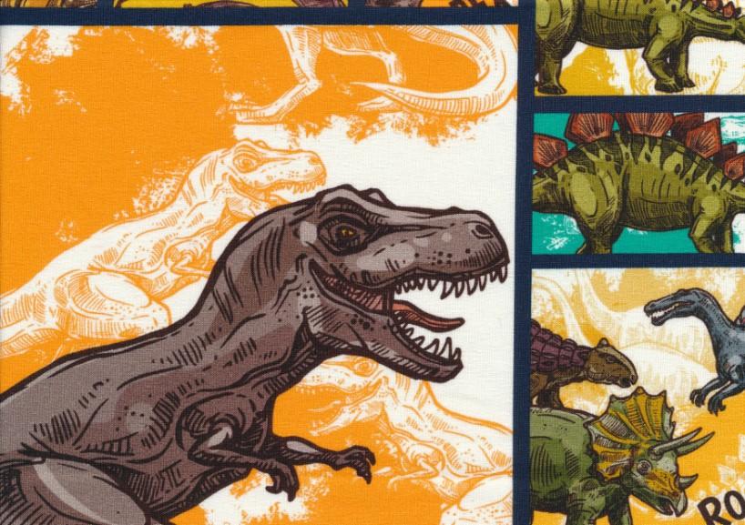 T5398 Joggingtyg Dinosaur (40 x 50 cm)