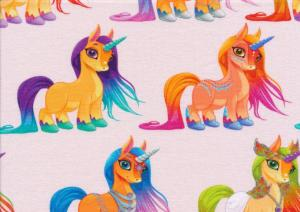 T5431 Jersey Fabric Unicorn