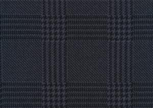 T5453 Trikåjacquard Glen Check grey-black