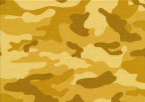 T5495 Sweatshirt Fabric Camouflage yellow