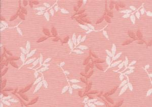 T5497 Trikåjacquard Shiny Leaves rose quarz