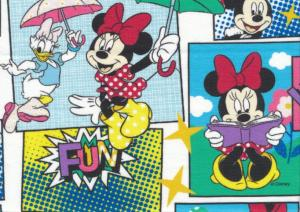 T5521 Jersey Fabric Disney Comic