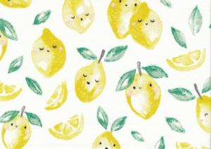 T5525 Jersey Fabric Lemon