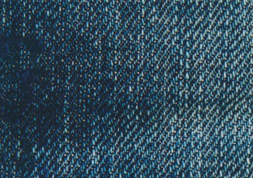 T5549 Trikå Jeansmönster