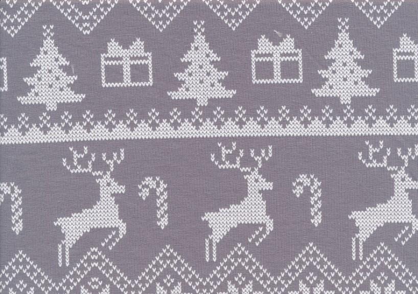 T5650 Joggingtyg jul grå